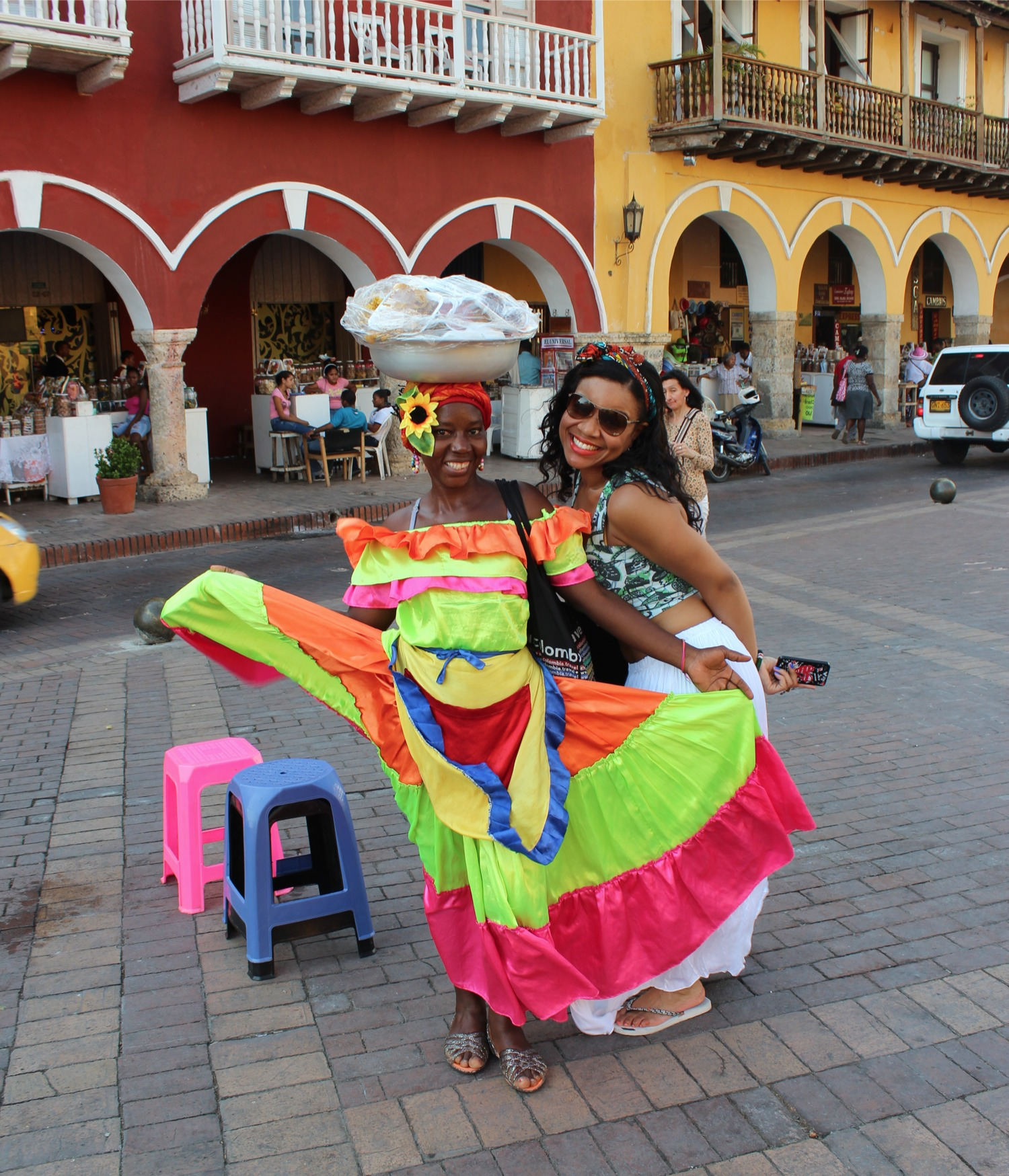 Touring Cartagena, Colombia