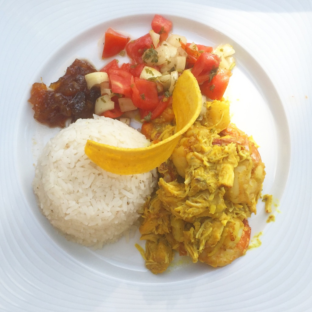 curry chicken moon palace jamaica