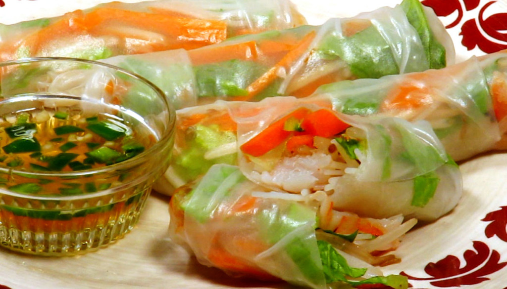 best spring rolls in vietnam