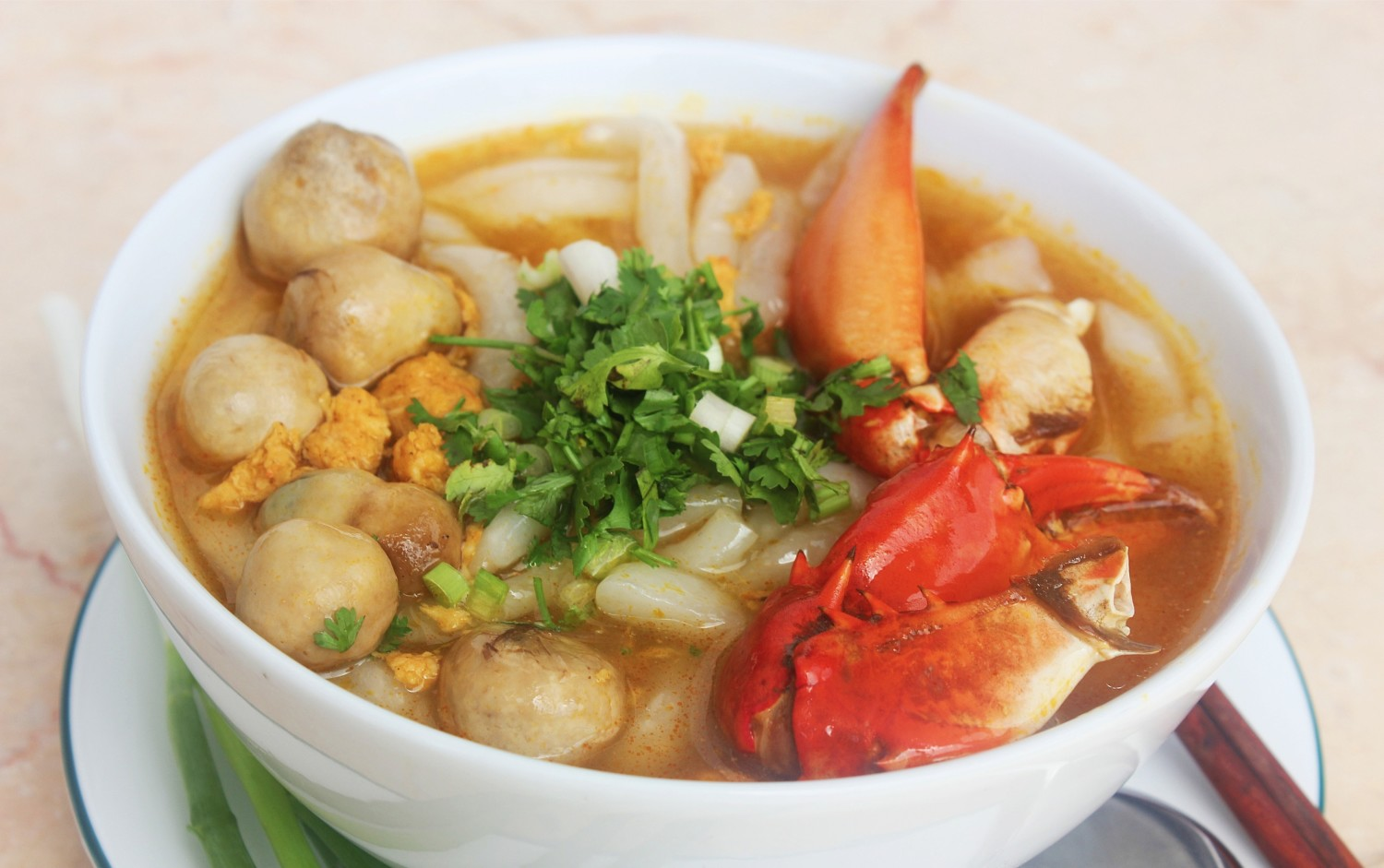 the best banh canh cua in vietnam
