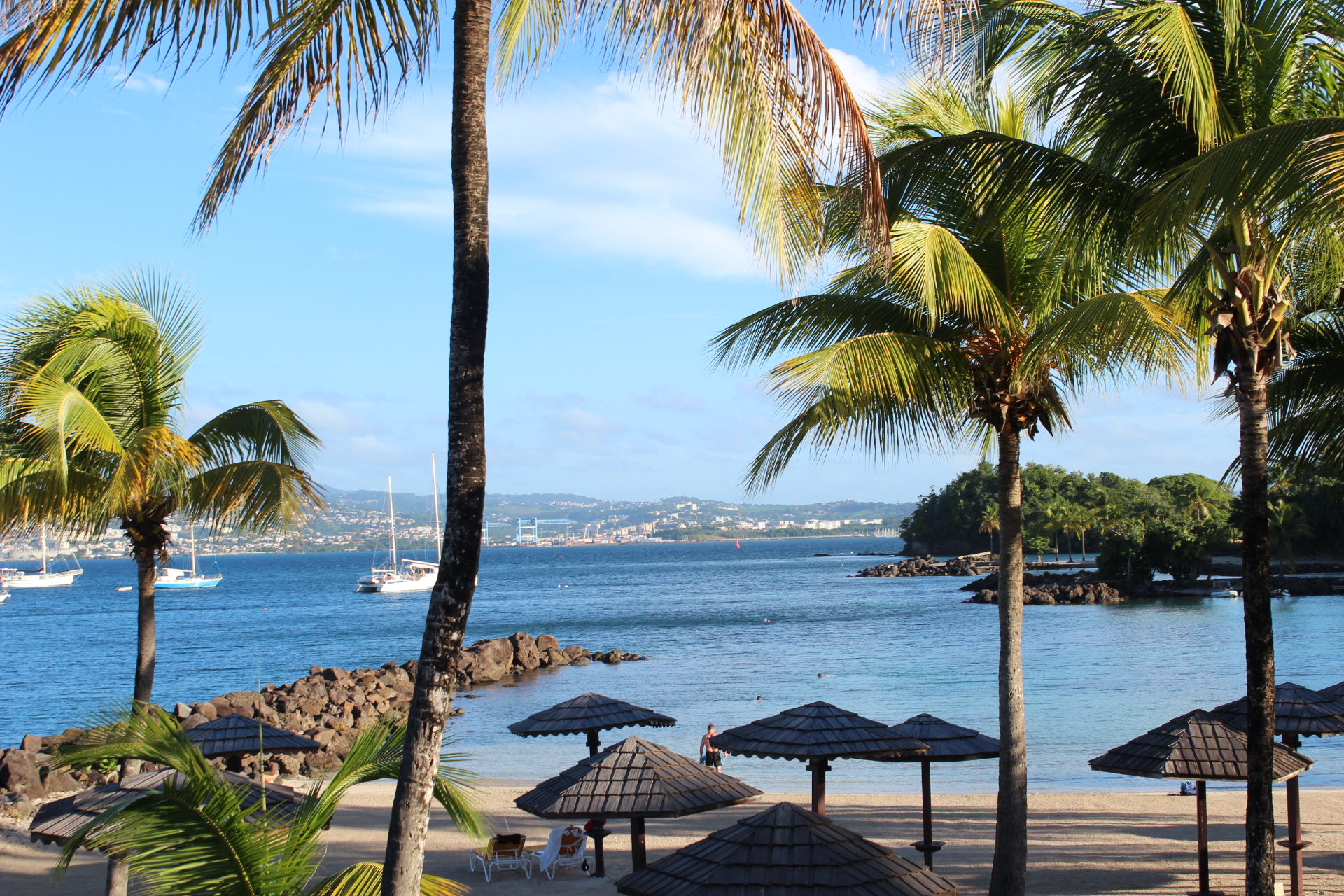 best drinks with a view in martinique